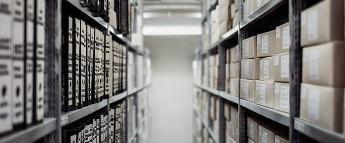 archive stacks