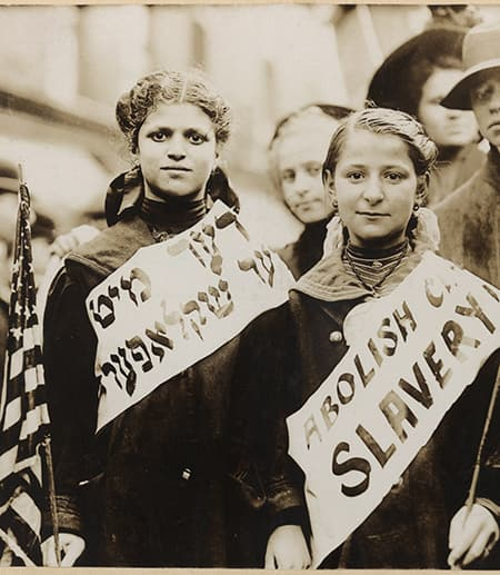 Triangle Shirtwaist Factory Fire Protests
