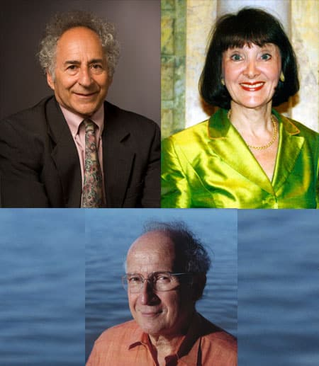 Dan Schwarz, Eva Fogelman, Roald Hoffman