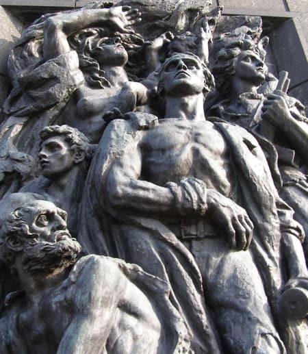 Warsaw, Poland Ghetto Uprising Monument