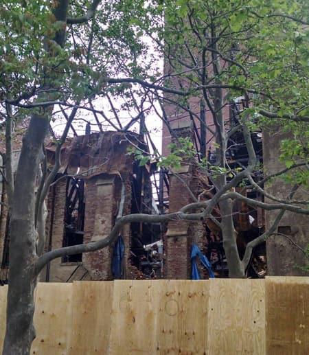 destroyed norfolk street synagogue